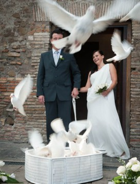 svatba ve Vignola Mattei