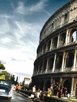svatba v Římě