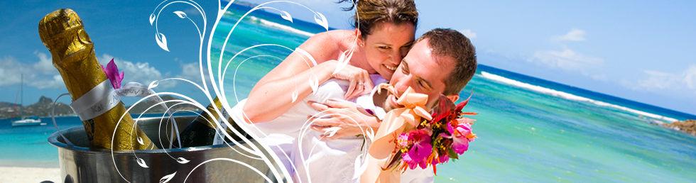 svatba v Karibiku