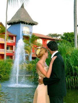 svatba Princess Caribe Club Beach Resort Dominikána