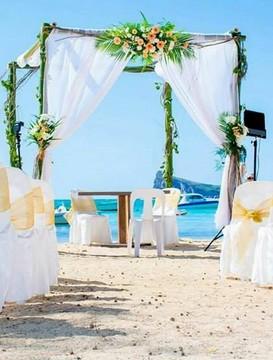 svatební balíček Seaview Calodyne Grand Gaube Mauricius