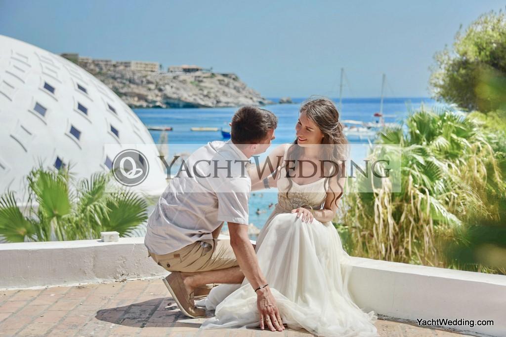 Svatba na Rhodosu
